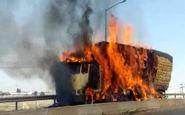 دو فروند شناور دریایی در رودخانه زهره هندیجان در آتش سوختند