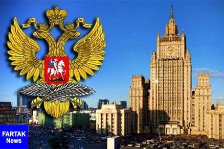 واکنش رسمی وزارت خارجه روسیه به حمله آمریکا به سوریه
