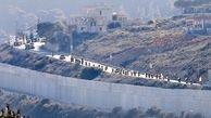 درگیری در منطقه مرزی لبنان با فلسطین اشغالی