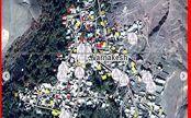 تصاویر ماهواره ای از تخریب ساختمانها در زلزله آذربایجان شرقی