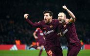 نتیجه خوب عملکرد «ضعیف» بارسلونا را پوشاند