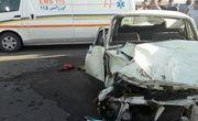 یک کشته و 9 مصدوم در تصادف تندر با پیکان در نائین