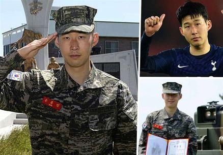 ستاره کرهای تاتنهام دوره سربازیاش را به پایان برد