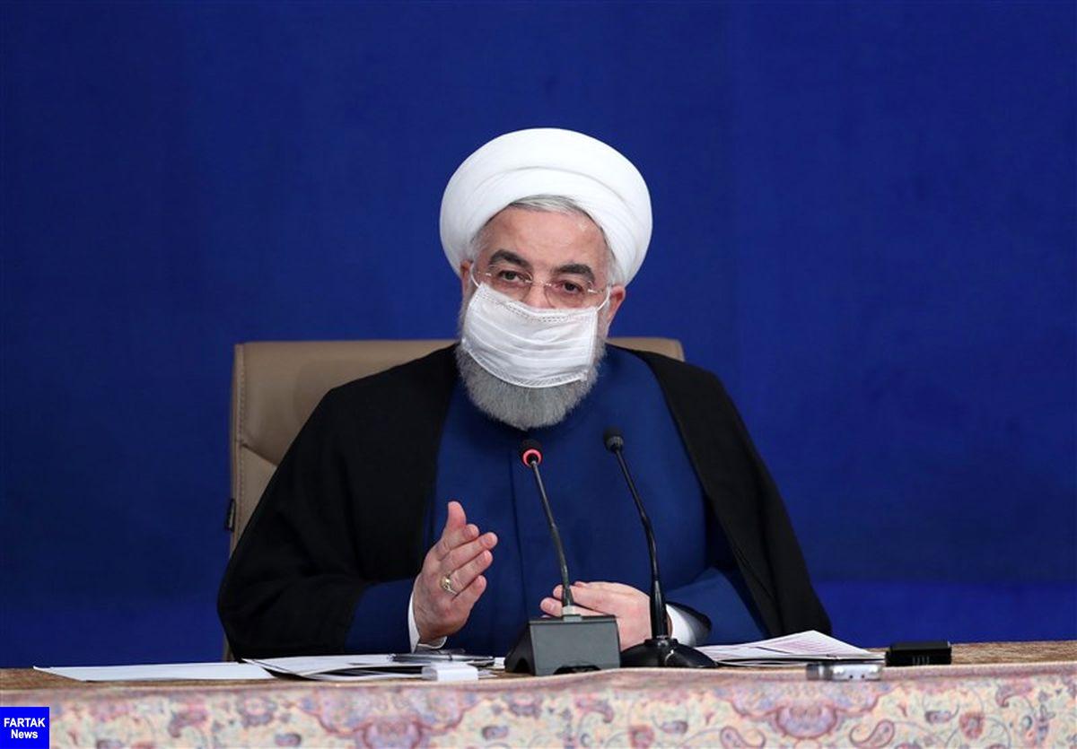 روحانی: دولت تمام توان خود را برای حمایت از سلامت مردم به کار خواهد گرفت