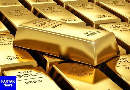 قیمت جهانی طلا امروز ۱۳۹۷/۱۲/۲۴ |کاهش قیمت دلار، قیمت طلا را بالا برد