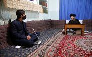 دیدار فعال فرهنگی با آیت الله علوی گرگانی