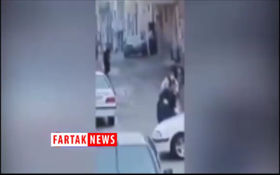 ویدیویی جدید از فرار 70 نفری از زندان سقز