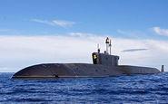 روسیه جدیدترین زیردریایی خود را به آب انداخت + فیلم