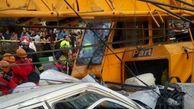 اتفاقی هولناک در مشهد/جرثقیل بر سر مردم افتاد