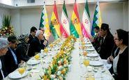 وزیران امور خارجه ایران و بولیوی دیدار و گفتگو کردند