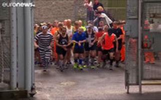 مسابقه سریعترین فرار در زندانی در بریتانیا!