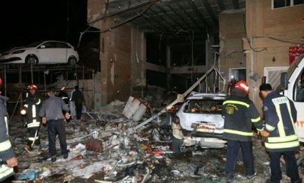 انفجار شدید در یکی از خیابانهای شیراز