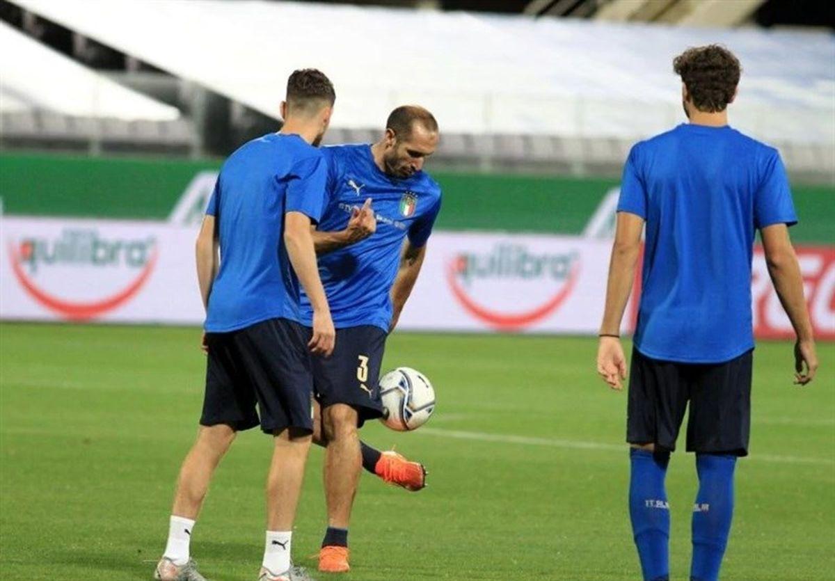 اشتباه عجیب ایتالیاییها در اولین بازیشان در لیگ ملتهای اروپا/ کیهلینی قربانی شد!