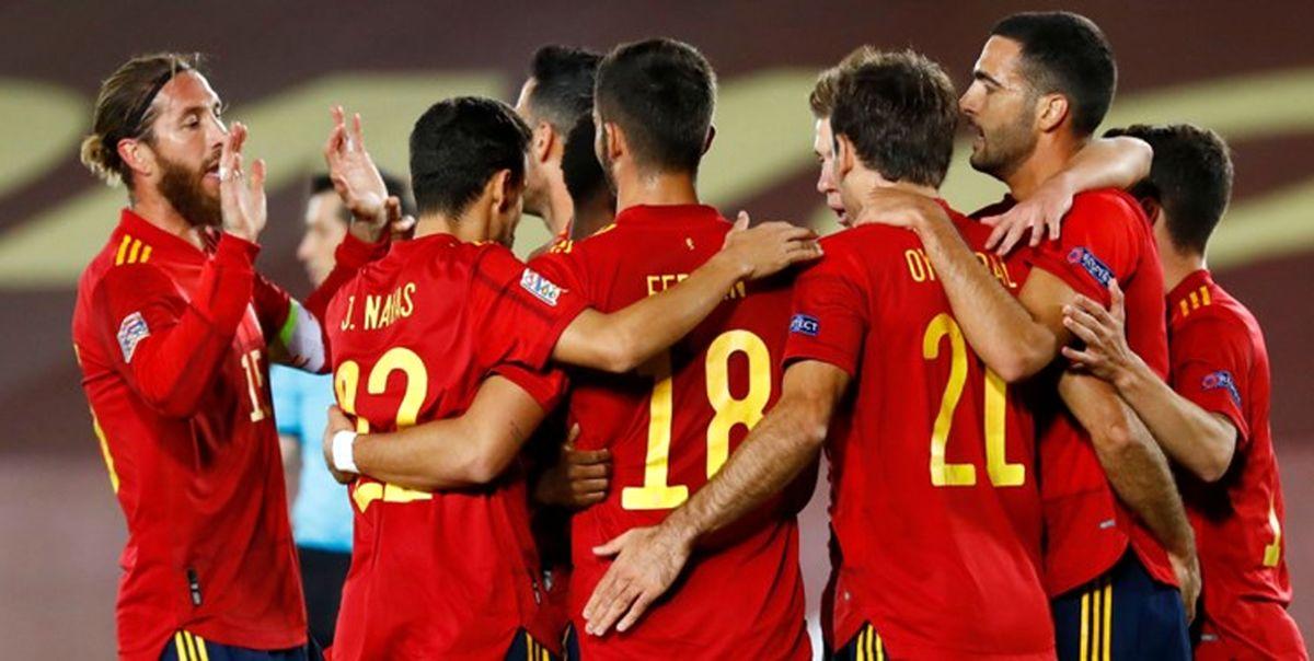 مقدماتی راه یابی به جام جهانی پیروزی انگلیس و کامبک اسپانیا