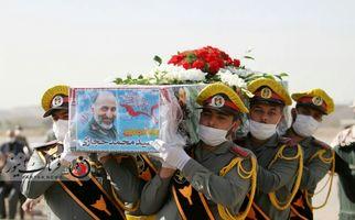 اختصاصی/گزارش تصویری تشیع پیکر سردار سید محمد حجازی در اصفهان
