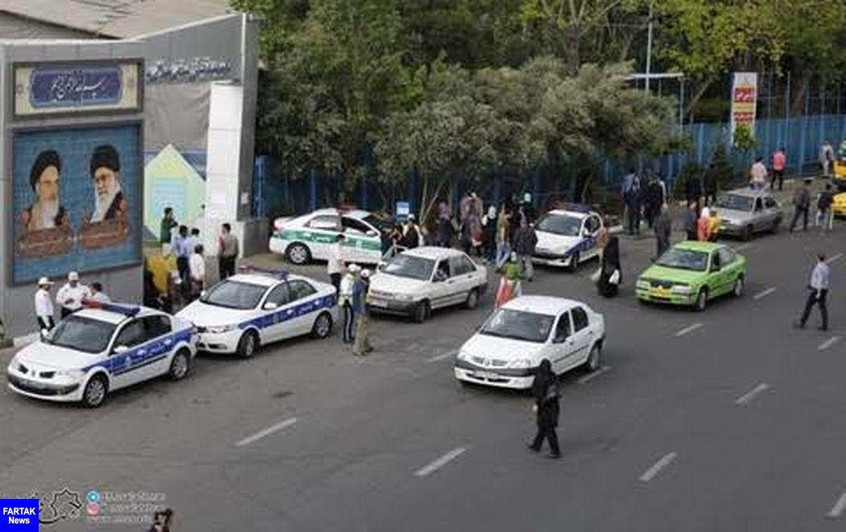 محدودیتهای ترافیکی اطراف مصلی تهران در روز جمعه