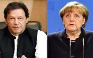 گفتگوی تلفنی نخست وزیر پاکستان با صدر اعظم آلمان