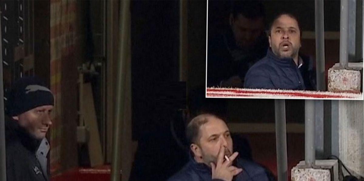 اتفاق جالب در لیگ فرانسه/سیگار کشیدن مربی در فاصله اخراج تا سکونشینی!
