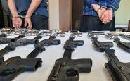 کشف 24 قبضه اسلحه و هزار عدد فشنگ در