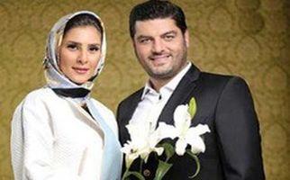 موتورسواری سام درخشانی همراه همسرش در خیابانهای تهران