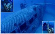 کشف هواپیمای جنگی آلمانی در اعماق دریای مدیترانه +فیلم