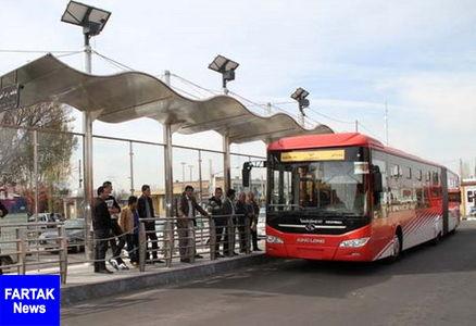 """احداث """"مسیر ویژه اتوبوس"""" در مسیر تهران - کرج"""