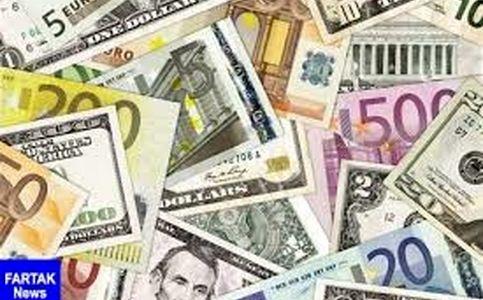 افزایش نرخ انواع ارز/ قیمت یورو ۴۱ تومان رشد کرد