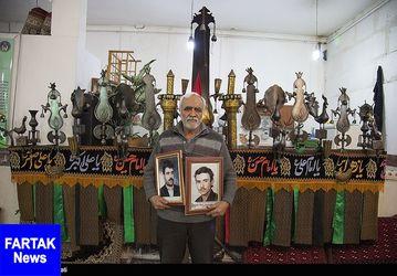 خانواده شهدای کرمانشاه  + تصاویر