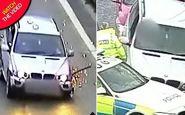 صحنه وحشتناکی که راننده مست در اتوبان رقم زد+فیلم