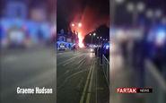 انفجار مهیب در انگلیس + فیلم