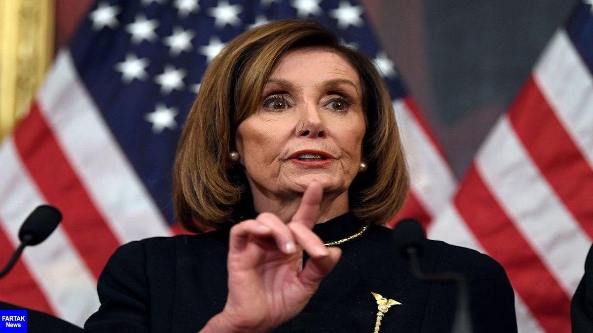 پلوسی: افزایش موارد کروناییها در کاخ سفید نگرانکننده است