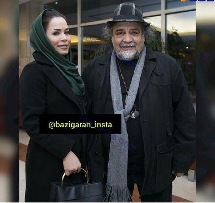 عکس دیده نشده خانم بازیگر با پدرش پس از کلی کاهش وزن