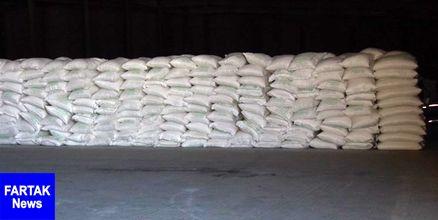 کشف ۱۲۵ تن شکر خارج از مسیر تولید در بجنورد