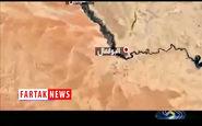 حضور مقام عالی نظامی ایران در 200 متری داعش+فیلم