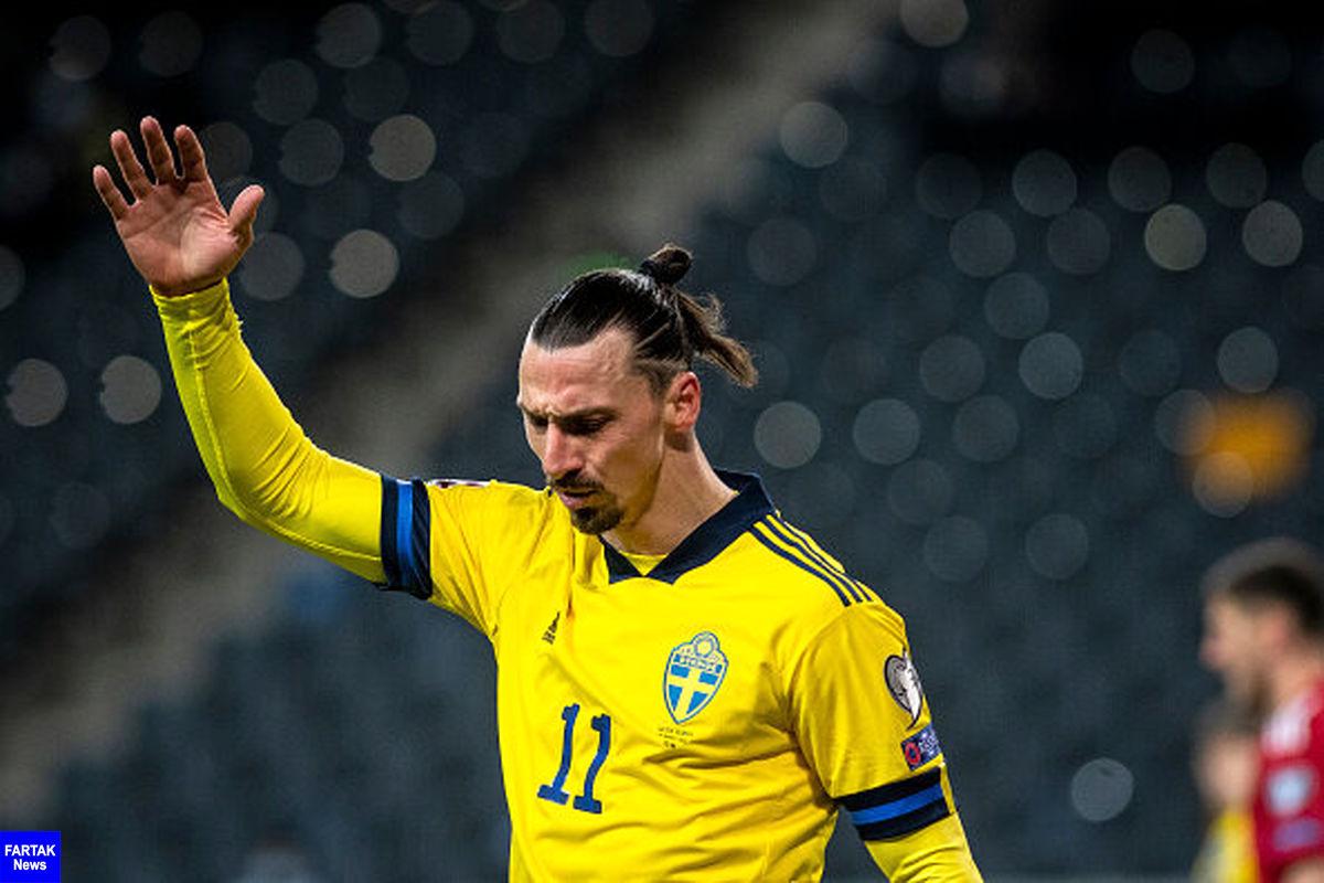 ایبراهیموویچ: می خواهم به هم تیمی هایم کمک کنم تا گلزنی کنند