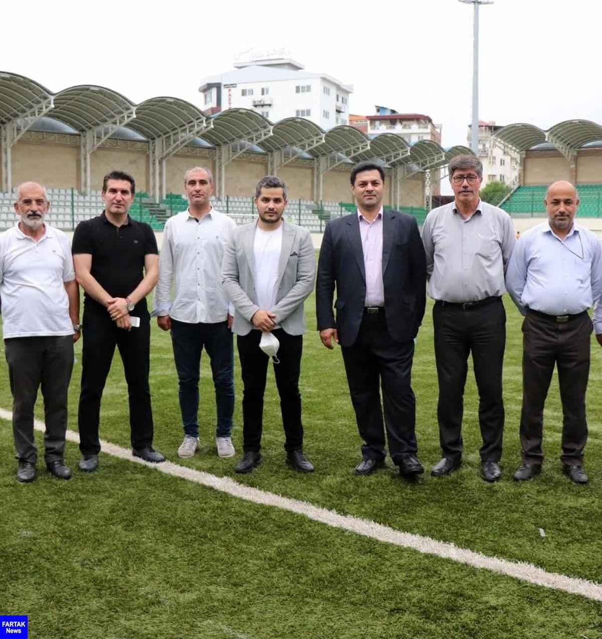 حضور امیرحسین فراهانی در دیدار حساس هفته دوازدهم+عکس
