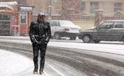 بارش شدید برف در اردبیل/ ارتفاع برف در سرعین به ۲۲ سانتیمتر رسید