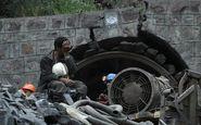 ریزش تونل در زغال سنگ طبس