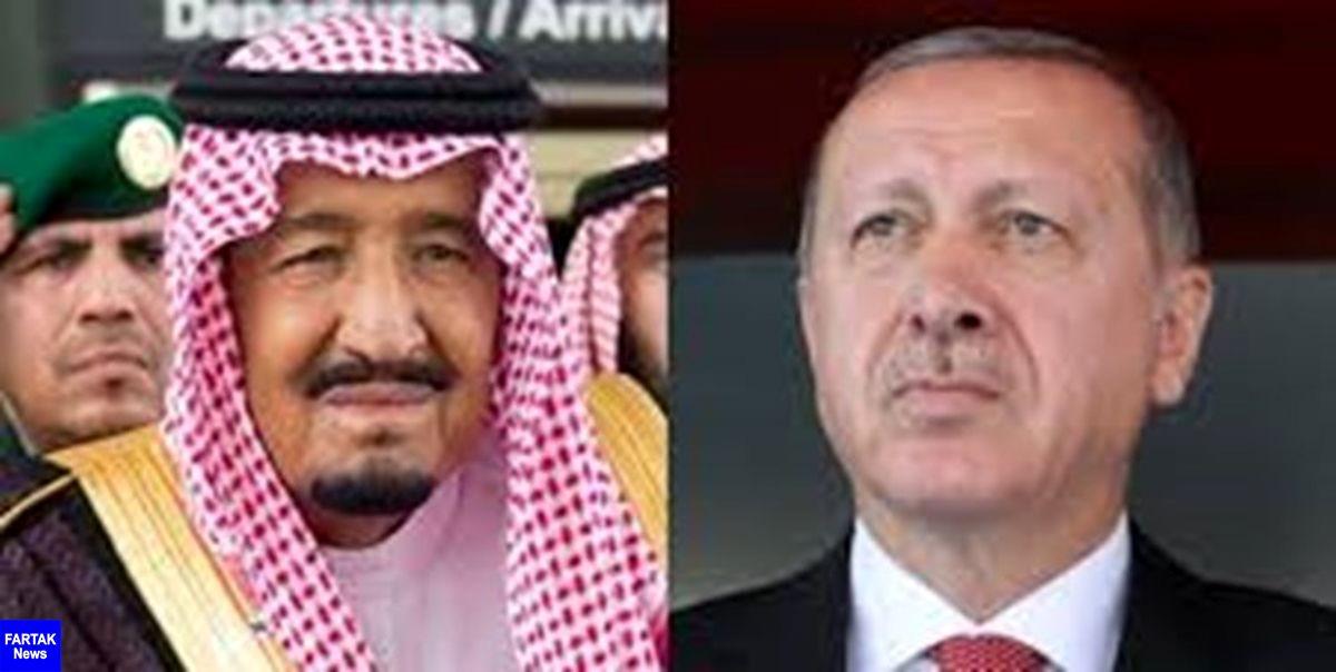 تماس تلفنی اردوغان و شاه سعودی