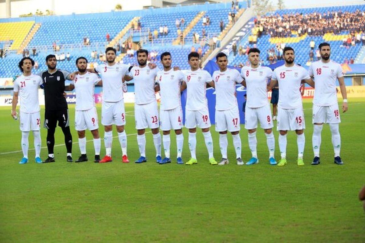 رقبای تیم ملی امید مشخص شد