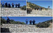 بهره برداری از پروژه آبخیزداری سازهای سنگی ملاتی درسرابله
