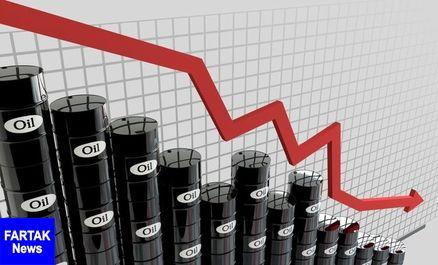 سقوط قیمت نفت ازسرگرفته شد