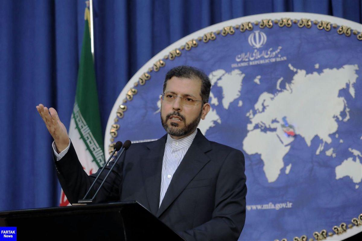 خطیب زاده: آمریکا در موضع شرط گذاری برای ایران نیست
