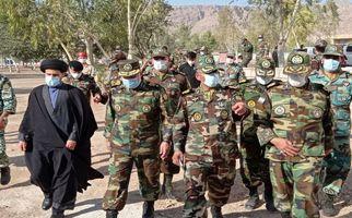 گزارش تصویری/افتتاح پروژههای عمرانی تیپ ۷۱ پادگان ابوذر سرپلذهاب