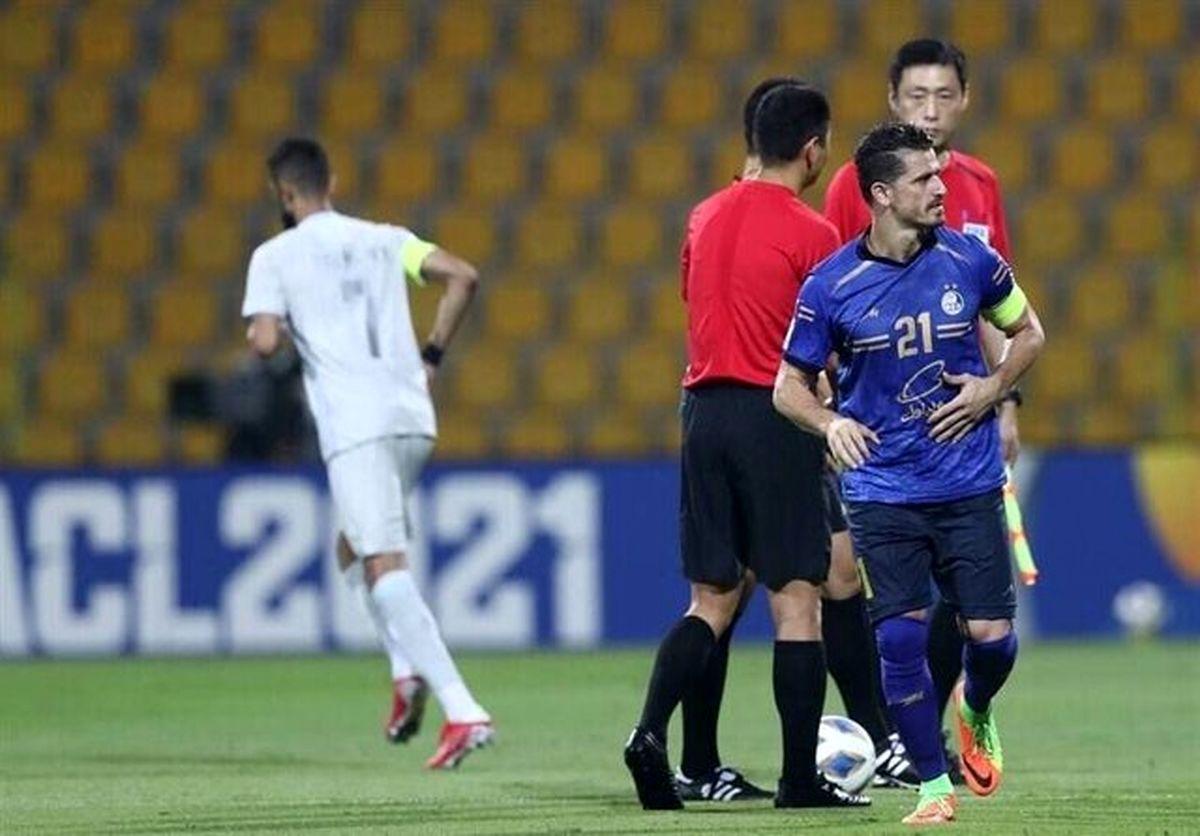 فلاحتزاده:اشتباهات فردی جزئی از فوتبال است/ استقلال مقابل الهلال احساسی بازی کرد
