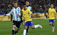 ترکیب اصلی برزیل و آرژانتین اعلام شد
