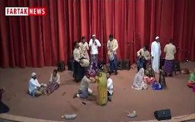 اجرای زیبای گروه مینابی ها در جشنواره آیین های نوروزی