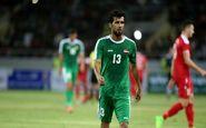 حرکت بسیار زیبای بازیکنان تیم ملی عراق برای ستاره پرسپولیس + عکس
