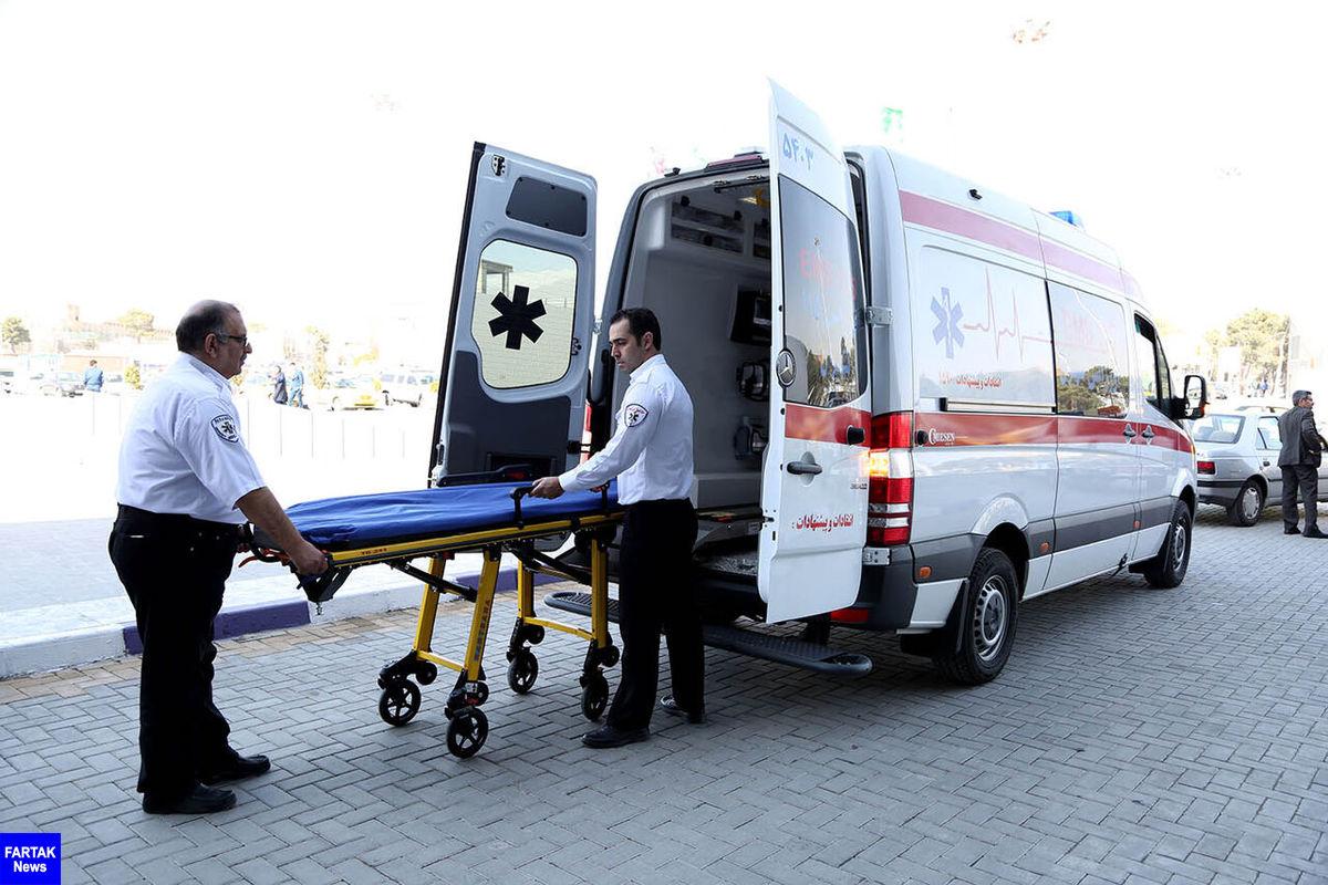 تصادف اتوبوس و کامیونت در البرز ۳۸ مصدوم داشت