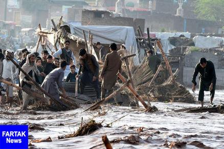 ۲۴ پاکستانی بر اثر سیل جان باختند
